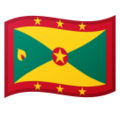 Flag: Grenada on Google Android 10.0 March 2020 Feature Drop