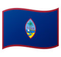 Flag: Guam on Google Android 10.0 March 2020 Feature Drop