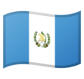 Flag: Guatemala on Google Android 10.0 March 2020 Feature Drop