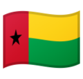 Flag: Guinea-Bissau on Google Android 10.0 March 2020 Feature Drop