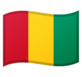 Flag: Guinea on Google Android 10.0 March 2020 Feature Drop