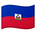 Flag: Haiti on Google Android 10.0 March 2020 Feature Drop