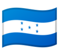 Flag: Honduras on Google Android 10.0 March 2020 Feature Drop