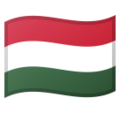 Flag: Hungary on Google Android 10.0 March 2020 Feature Drop