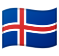Flag: Iceland on Google Android 10.0 March 2020 Feature Drop