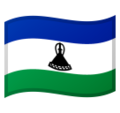 Flag: Lesotho on Google Android 10.0 March 2020 Feature Drop