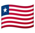 Flag: Liberia on Google Android 10.0 March 2020 Feature Drop