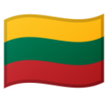 Flag: Lithuania on Google Android 10.0 March 2020 Feature Drop