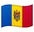 Flag: Moldova on Google Android 10.0 March 2020 Feature Drop