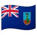 Flag: Montserrat on Google Android 10.0 March 2020 Feature Drop
