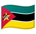 Flag: Mozambique on Google Android 10.0 March 2020 Feature Drop
