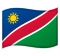 Flag: Namibia on Google Android 10.0 March 2020 Feature Drop