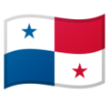 Flag: Panama on Google Android 10.0 March 2020 Feature Drop