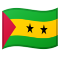 Flag: São Tomé & Príncipe on Google Android 10.0 March 2020 Feature Drop