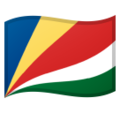 Flag: Seychelles on Google Android 10.0 March 2020 Feature Drop
