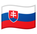 Flag: Slovakia on Google Android 10.0 March 2020 Feature Drop