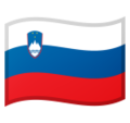 Flag: Slovenia on Google Android 10.0 March 2020 Feature Drop
