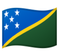 Flag: Solomon Islands on Google Android 10.0 March 2020 Feature Drop