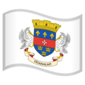 Flag: St. Barthélemy on Google Android 10.0 March 2020 Feature Drop