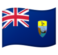 Flag: St. Helena on Google Android 10.0 March 2020 Feature Drop