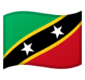 Flag: St. Kitts & Nevis on Google Android 10.0 March 2020 Feature Drop