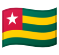 Flag: Togo on Google Android 10.0 March 2020 Feature Drop