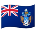 Flag: Tristan Da Cunha on Google Android 10.0 March 2020 Feature Drop