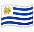 Flag: Uruguay on Google Android 10.0 March 2020 Feature Drop