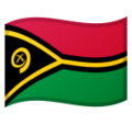 Flag: Vanuatu on Google Android 10.0 March 2020 Feature Drop