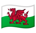 Flag: Wales on Google Android 10.0 March 2020 Feature Drop