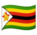 Flag: Zimbabwe on Google Android 10.0 March 2020 Feature Drop