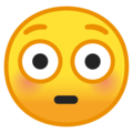 Flushed Face on Google Android 10.0 March 2020 Feature Drop