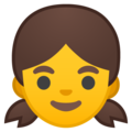 Girl on Google Android 10.0 March 2020 Feature Drop