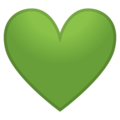 Green Heart on Google Android 10.0 March 2020 Feature Drop