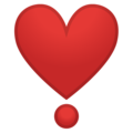 Heart Exclamation on Google Android 10.0 March 2020 Feature Drop