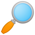 Magnifying Glass Tilted Right on Google Android 10.0 March 2020 Feature Drop