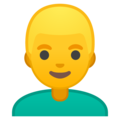 Man: Blond Hair on Google Android 10.0 March 2020 Feature Drop