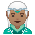 Man Elf: Medium Skin Tone on Google Android 10.0 March 2020 Feature Drop