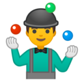 Man Juggling on Google Android 10.0 March 2020 Feature Drop