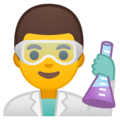 Man Scientist on Google Android 10.0 March 2020 Feature Drop