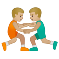 Men Wrestling, Type-3 on Google Android 10.0 March 2020 Feature Drop