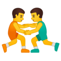 Men Wrestling on Google Android 10.0 March 2020 Feature Drop