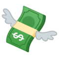 Money with Wings on Google Android 10.0 March 2020 Feature Drop