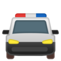 Oncoming Police Car on Google Android 10.0 March 2020 Feature Drop