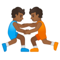 Wrestlers, Type-5 on Google Android 10.0 March 2020 Feature Drop