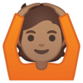 Person Gesturing OK: Medium Skin Tone on Google Android 10.0 March 2020 Feature Drop