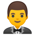 Person in Tuxedo on Google Android 10.0 March 2020 Feature Drop