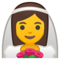 Person With Veil on Google Android 10.0 March 2020 Feature Drop