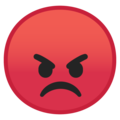 Pouting Face on Google Android 10.0 March 2020 Feature Drop