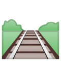 Railway Track on Google Android 10.0 March 2020 Feature Drop